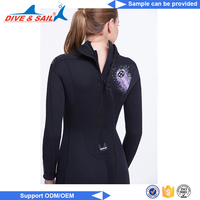2017 high quality warm diving suit sleeveless wetsuit top