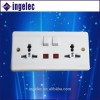 YiWu No.1 usb electrical switch socket modular wall switch in electric