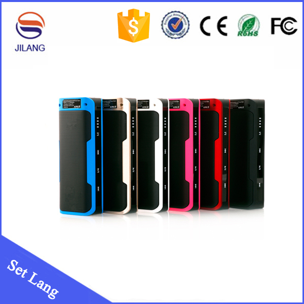 2015 New products MP3 <strong>Players</strong> 4000mah portable power bank bluetooth speaker