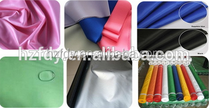 100% polyester silver coated taffeta fabric waterproof uv protection car body cover fabric