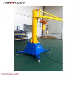 cheap price slewing mobile jib crane 1 ton portal jib crane 2 ton