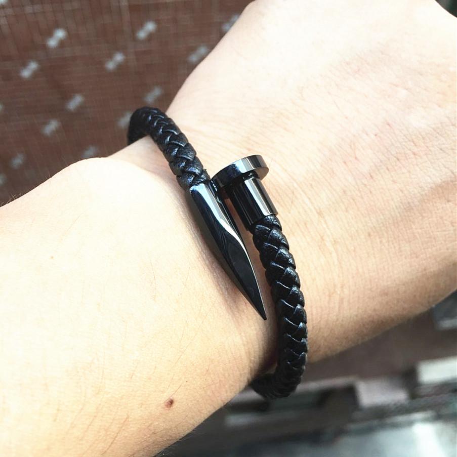 Nail Bracelet Mens Best Bracelets