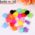 new arrival lovely kids colors circle mini size plastic hair claws