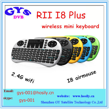 Rii I8+ Air Mouse 2.4g Wifi Wireless Mini Keyboard Use For Android ...