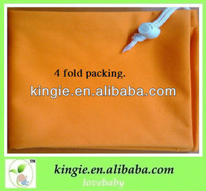 breathable waterproof plain color wet cloth bag for wet or dry cloth diaper /other projects