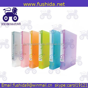 Stationery OEM factory assorted color plastic pp hanging file folder clips