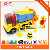 Plastic friction toy car garbage truck toy for sale