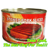Delicious Food Canned Pork Meat Stewed Pork Sliced 227G