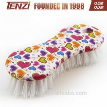Cleaning plastic clothes scrubbing brush health care product brush made in china