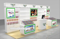 5m by 2m cosmetic counter design, cosmetic shop design, cosmetic display stand for sale