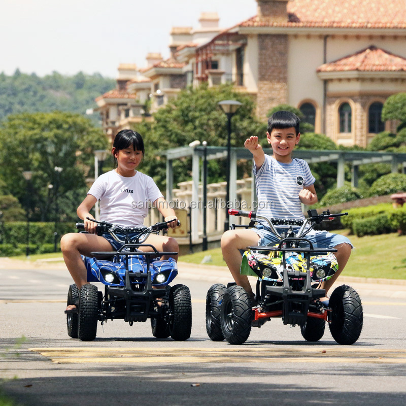 kids atv electric four wheel motorcycle quad bike shaft drive 500W