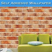 SINO Good Breath 3D Brick Wallpaper Of Coffee Shop Walls
