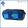 Multifunction pencil box with big compartments, clamshell layer personalized custom printed unusual pencil cases