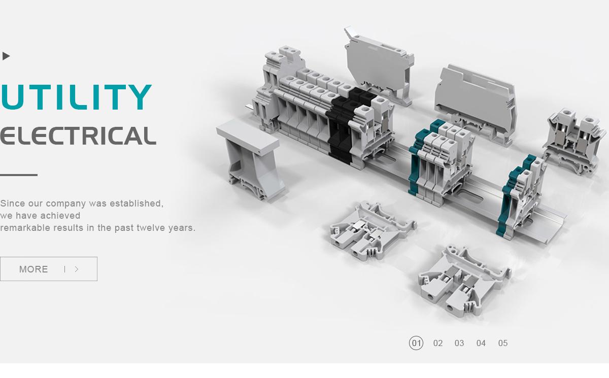 Utility Electrical Co., Ltd. - Terminal block, Push button