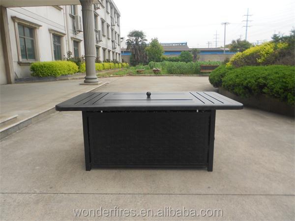 rechteck outdoor gas feuerstelle tisch feuerstelle produkt. Black Bedroom Furniture Sets. Home Design Ideas