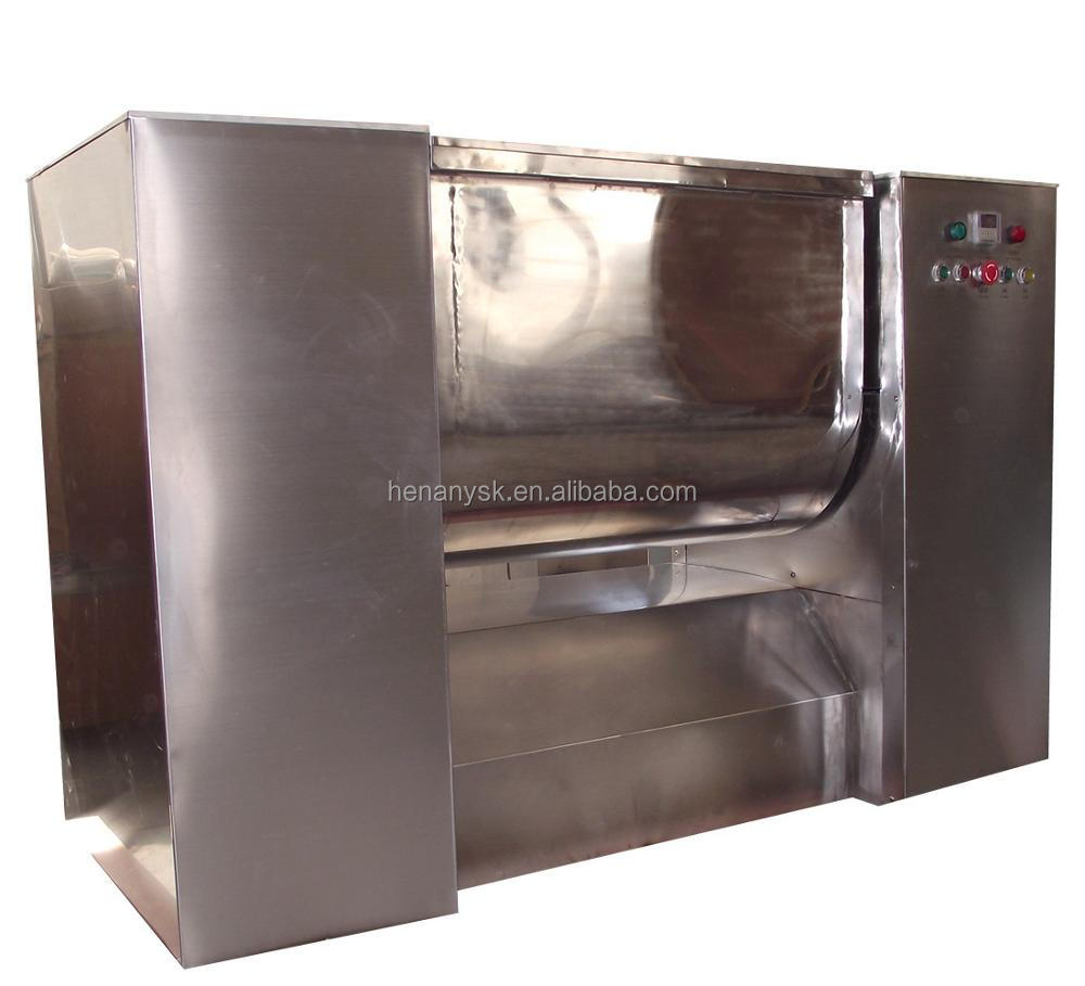 Stainless Steel Automatic Inching Feeding Uniform Mixing Horizontal Mixer Slot Type Blender