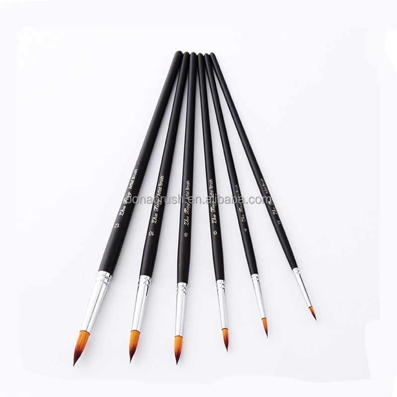 Bona 2017 best selling multifunction personalized brush artist paint brush for art supplies