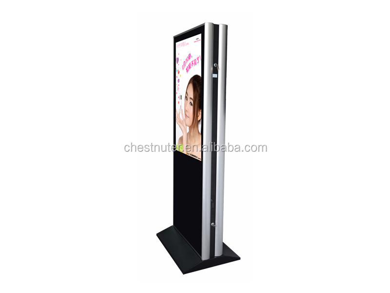 Branded high Quality LG or Samsung screen dual screen kiosk