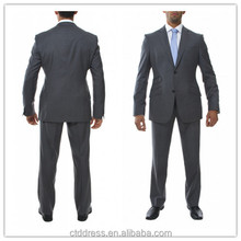 2014 new style 100% wool grey tailor cutting