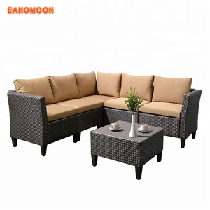 Modern Designs Furniture Low price Rattan Wicker latest outdoor Sofa