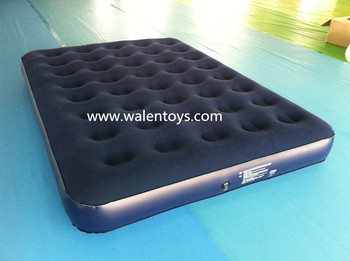 Full Size Blowup Air Mattress Camping Portable Air Bed With Built