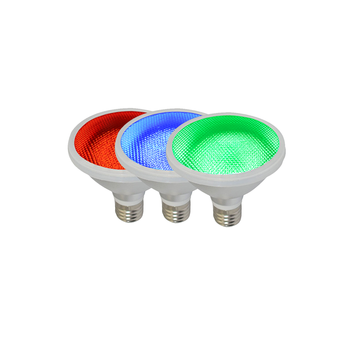 Red/Blue/red high quality PAR30 led landscape Light Bulb E27 12W 15W Led spot Light For garden and decorate
