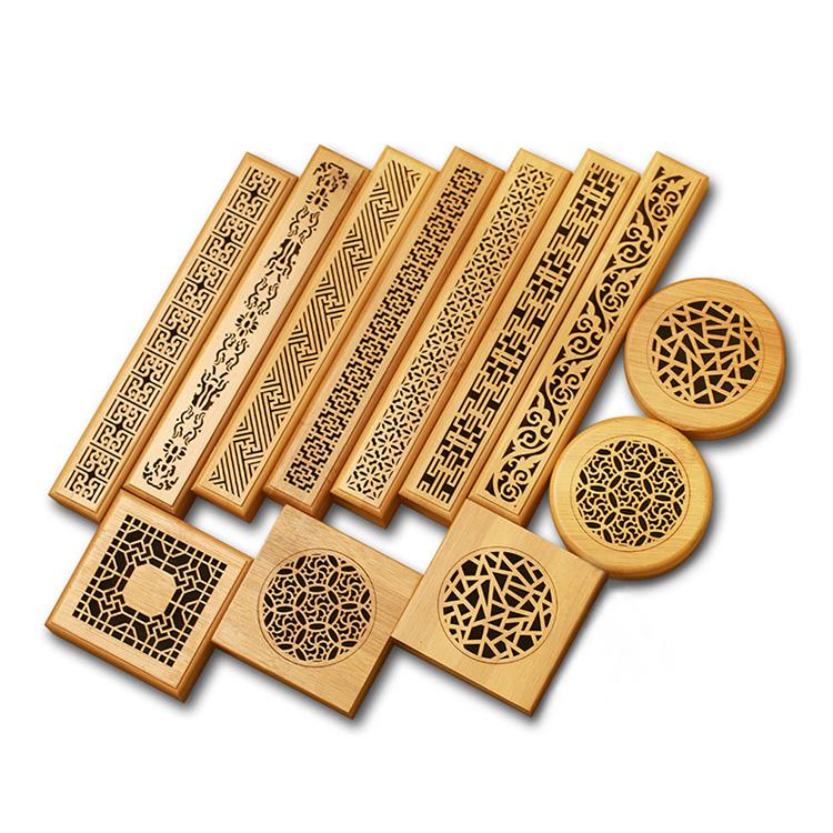 Bambu tütsü brülör tütsü bobin ve oud için sopa
