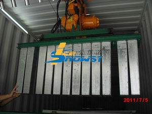 Containerized Industrial Block Ice Plant for Cooling, Fishing