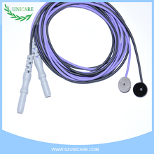 Excellent quality eeg electrodes and wires for special order caps to clinical application