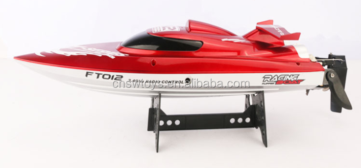2015 New prodcut FT012 2.4G 4CH 45 km/h high speed brushless big rc speed boats