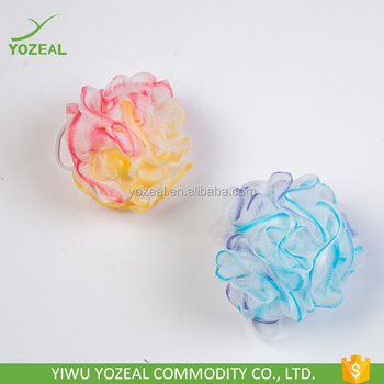 Soft Pe Mesh Body Scrub In Bath Bath Scrub Sponge Wholesale View