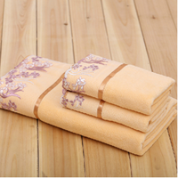 High Quality Wholesale Luxury Egyptian Cotton Towel Gift Set