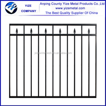 Short Wrought Iron Fence/wrought iron fencing (Certified direct factory )