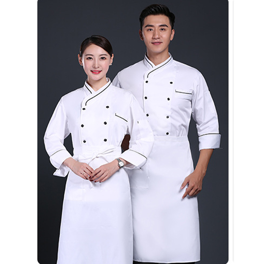Product Supply High Quality Italian Hotel Fast Food Restaurant Staff Chef Kitchen Uniform Design White Chef Coat Buy Uniforms Chef Coat Chef Kitchen