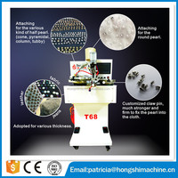 automatic electric pearl setting machine For Apparel, Hat, Jeans, Skirts
