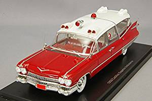 Cadillac S&S Superior, ambulance, 1959, Model Car, Ready-made, Neo 1:43