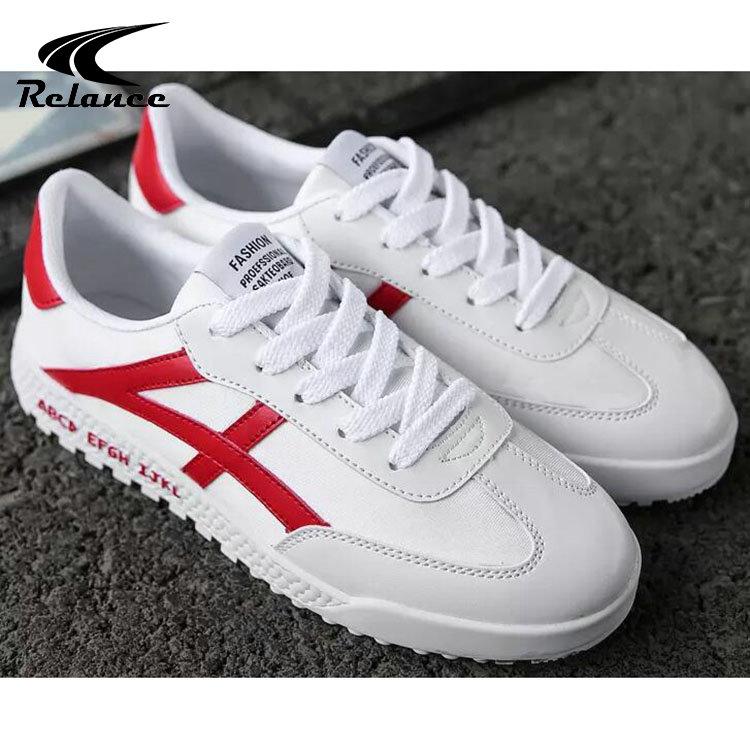 Casual White PU Men for Slip Shoes Wholesale Custom Sole Anti nAqYYBWa