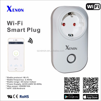 Xenon Wifi Socket Works With Amazon Alexa Echo Smart Plug Smart Socket Wifi  Socket Wifi Plug Access By App For Ios & Android - Buy Wifi Access