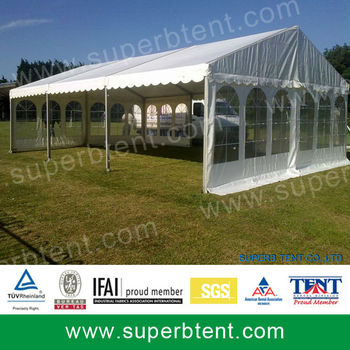 Cheap Big 12x12 Canopy Tent With Clear Pvc Window And Glass Door