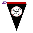 Direct Supply Customized Union jack Sports Rectangle Wholesale Pennants