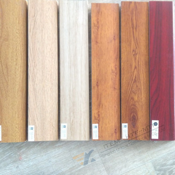 Wood Grain Heat Printing Transfer Film For WPC Baseboard