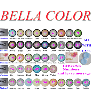 yearly using Bella beauty contact lenses wholesale colored contacts