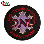Factory direct sale embroidered name patches 30% 50% 75% 100% coverage custom iron on patches embroidered badges