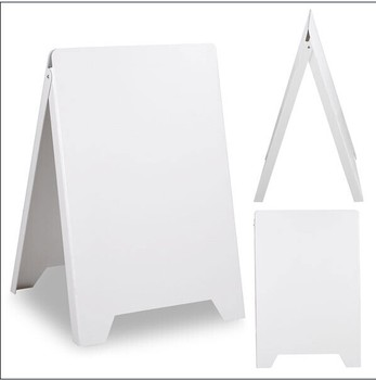 A Shape Cheap Folding Plastic Poster Board For Advertising Frame Sign