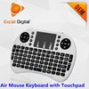 mini wireless keyboard 2.4g with touchpad