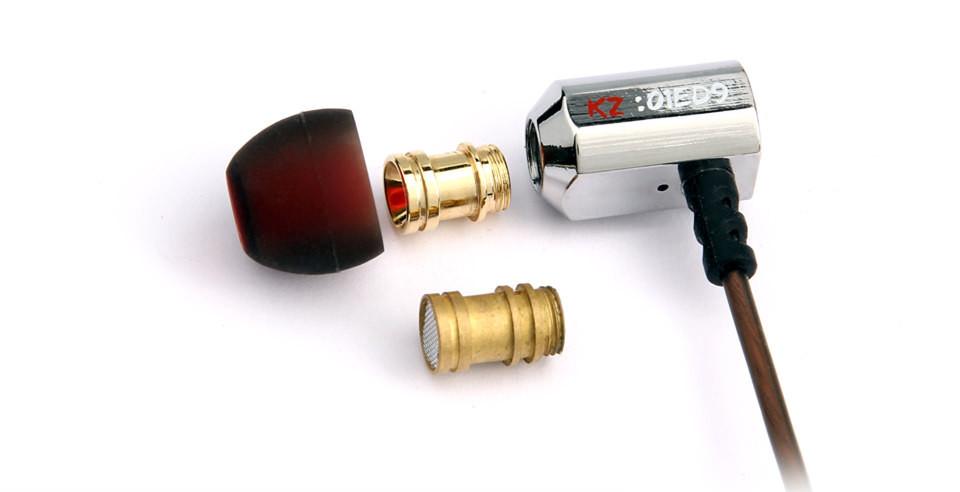 KZ ED9 הסופרבול כוונון חרירי T בצורת נהג ניטור באוזן אוזניות HiFi אוזניות עם מיקרופון שקוף נשמע