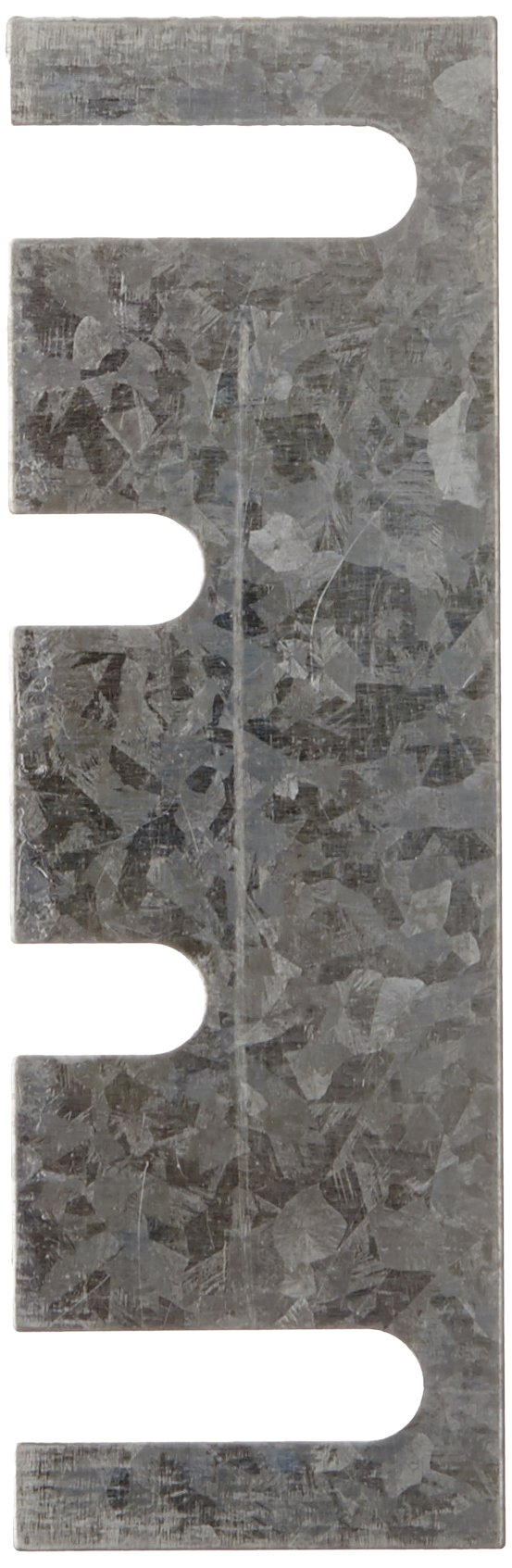 """Rockwood HS42 Steel Hinge Shim, 1-7/16"""" Width x 4-1/2"""" Height x 0.028"""" Thick, Galvanized Coat Finish (Pack of 50)"""