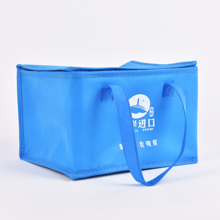 High Quality Food Use Non Woven Aluminium Foil Box cooler bag For Lunch