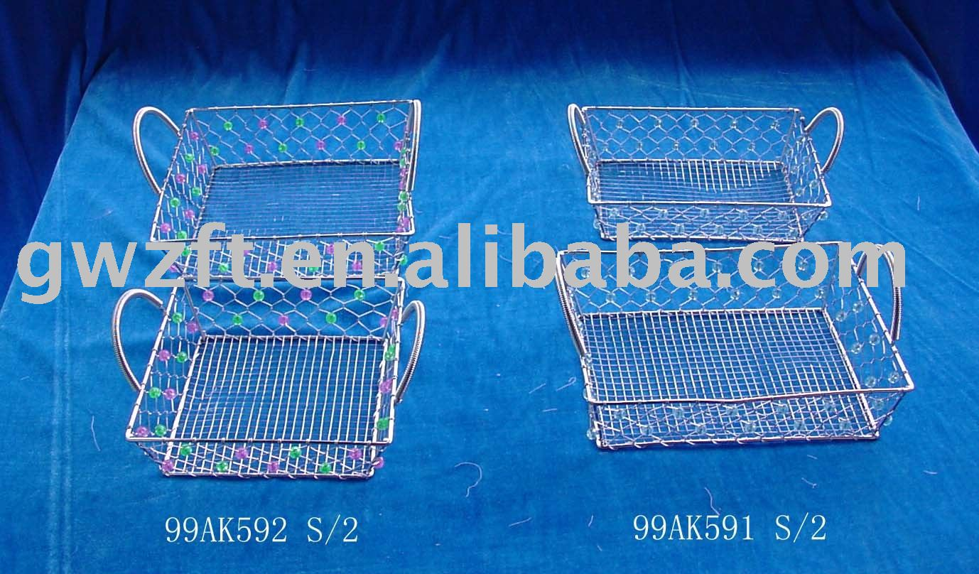 Galvanized Iron Wire Hanging Baskets Wholesale, Hanging Basket ...