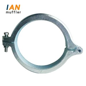 IAN Custom Size Stainless Steel Exhaust Flexible Pipe Clamp